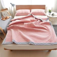 Grey Quilted Bedspread Online Get Cheap Pink Coverlet Aliexpress Com Alibaba Group