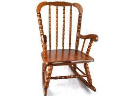 vintage original jenny lind child u0027s rocking chair mid century