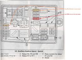 fuel pump fuse electrical mk1 mk2 mondeo talkford com