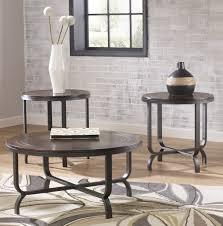 coffee tables attractive ashley furniture ferlin piece coffee