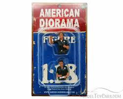ad police seated police black uniform american diorama figurine 23830 1