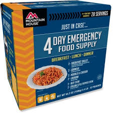 Mountain House Food by Mountain House Just In Case 4 Day Meal Kit Rei Com