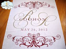 personalized aisle runner aisle paint for you personalized custom aisle runner
