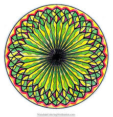 free coloring pages mandalas color download print