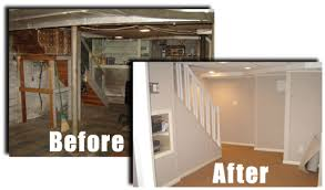 Finished Basement Contractors by Alure Open Houses Featuring Owens Corning Basement Finishing