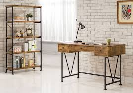antique style writing desk industrial style writing desk