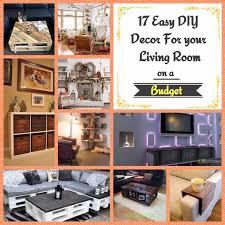 Room Diy Decor 17 Easy Diy Decor For Your Living Room On A Budget Wartaku Net