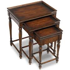 amazon com hooker furniture seven seas three nesting tables