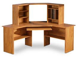 Sauder Orchard Hills Computer Desk With Hutch Carolina Oak by Wood Computer Desks Home Design