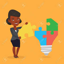 american made light bulbs an african american business woman completing light bulb made
