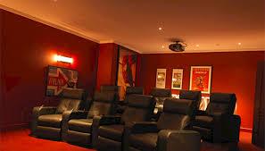 kew joinery cinema games room