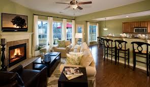 great room decorating idea and model home tour model home