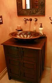 spanish style bathroom vanity spanish style home custom rustic