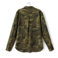 camo blouse shop clearance camouflage blouse camo casual blusa