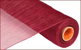 deco mesh supplies 21 inch burgundy deco mesh roll re100205 deco mesh supplies