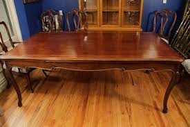 Retractable Dining Table Antique Dining Table With Retractable Leaves At 1stdibs