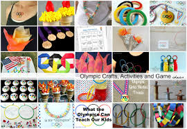 olympic crafts activities and game ideas the idea room