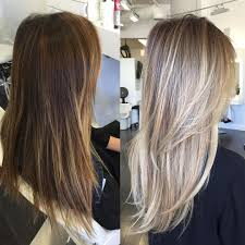 Change Hair Color Online Free Color Correction Spotty Blonde To Lovely Violet Ash Hair Color