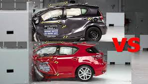lexus vs bmw i3 crash test 2016 lexus ct 200h vs toyota prius youtube