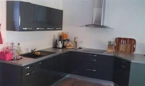 cuisine laquee cuisine laquee blanche plan de travail gris 14 rutistica home