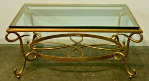furniture glass and brass coffee table ideas golden rectangle