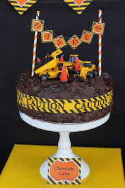 construction cake toppers construction themed cake 3rd birthday party with lots of awesome