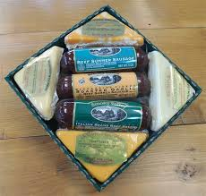 summer sausage gift basket ultimate beef cheese combo gift box country cheese and more