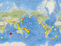 East Africa Map Solomon Islands East Africa And Nevada Earthquakes 7 13 August 2015