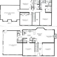 two floor house plans modern house plans 2 bedroom floor plan open concept kitchen and