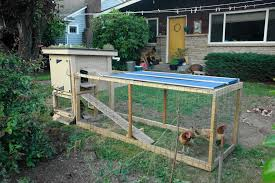 how to build a simple chicken coop and run with simple homemade