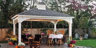 Hamptons Style Outdoor Furniture by Gazebo Poolside 19 U2013 Pavilion Hampton Style Pleasant Run
