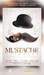 mustache party flyer mustache party template by david82flash graphicriver
