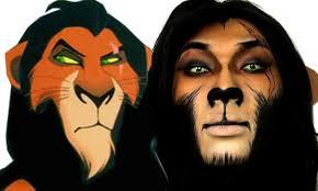 scar lion king halloween makeup tutorial theprinceofvanity