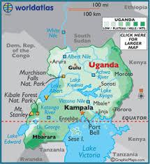 a map of uganda map geography of uganda map of uganda worldatlas com