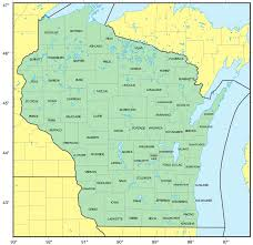 Racine Wisconsin Map by Map Of Wisconsin Highlighting Buffalo County U2022 Mapsof Net