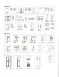 best kitchen cabinet standard measurements home design awesome