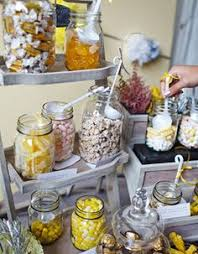 Where To Buy Candy Buffet Jars by Yellow And Gray Candy Buffet For 75 Guests By Sweetladera Cox Net