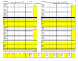 Pto Spreadsheet Template Excel Time Card Template Time Card Template