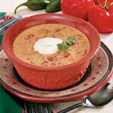 creamy taco soup recipe taste of home