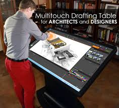 Engineering Drafting Table by Multitouch Drafting Table For Architects Designers And Engineers