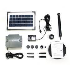 Solar Lights For Ponds by Solar Pond Pump With Battery Backup Sunspray Se 500