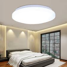 18w round led ceiling light down lamp flush mount fixture bedroom
