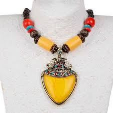 ethnic necklace aliexpress images Ethnic necklaces pendants colorful beads cluster collar necklaces jpg