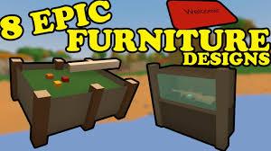 Furniture Designs Unturned 8 Cool Furniture Designs Youtube