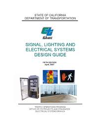 signal lighting and electrical systems design guide sl u0026es guide