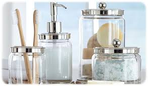 best bathroom canisters vanity canisters apothecary jars