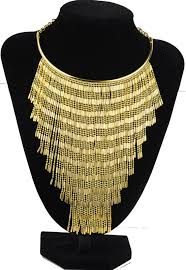 gold costume necklace images Buy fashion jewelry women large costume necklace jpg
