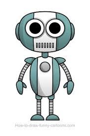 robot drawing sketching vector