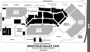 nordstrom floor plan mall hall of fame