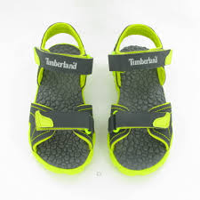 timberland splashtown kids sandals in grey